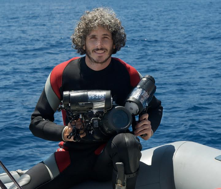 2015-2016 Fulbright NY Alumnus-in-Residence Keith Ellenbogen, an acclaimed underwater photographer with an emphasis on environmental conservation.
