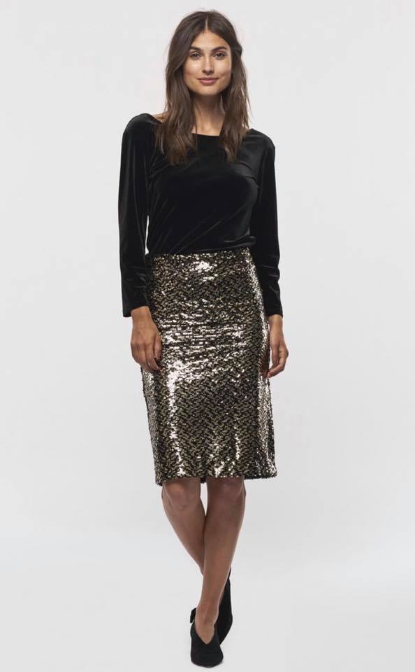 Part Two sparkle skirt