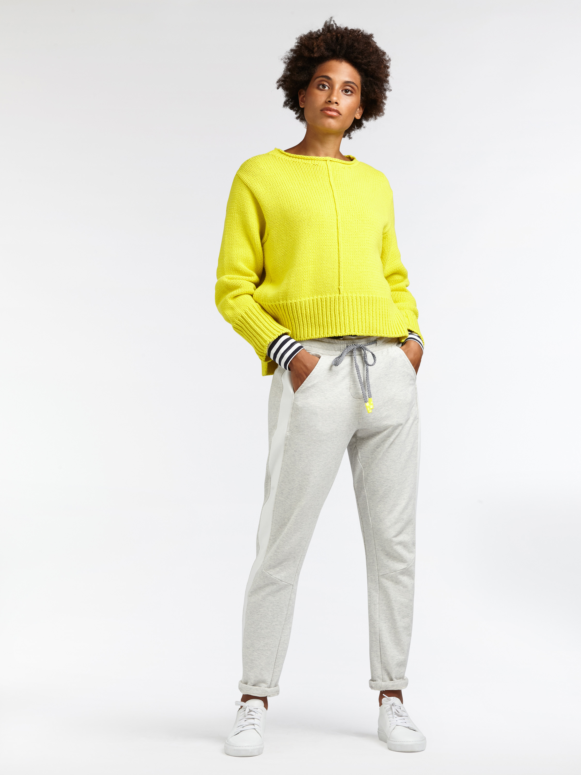 Integrate yellow into your wardrobe and invite it to brighten up any look—it'll deliver.