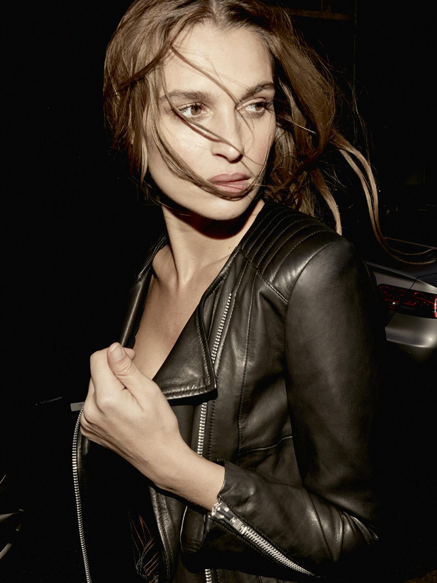 Mos Mosh Meera Leather Jacket