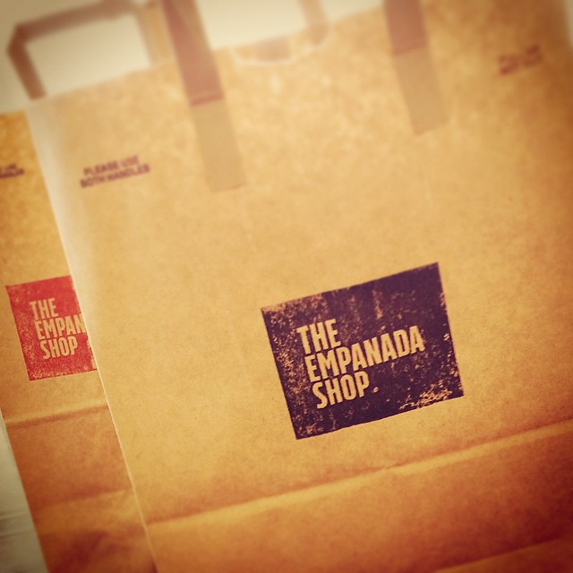 Freshly stamped bags for Hot #Empanada Delivery! Coming in January at @LAbite