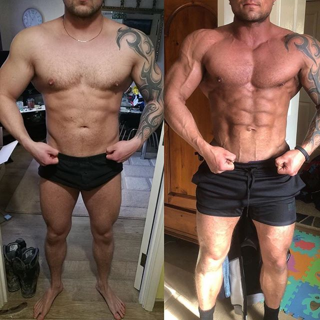 One year anniversary check in with my boy @alexratcliff88  Here's the progress so far.  Now at his biggest and leanest to date. 4 weeks into a cruise phase focused on potentiating him for a big push up. The coolest things here though is what you can't see... - Lowest supplementation to date - Lowest BP to date - Strongest to date, still taking PB's - Lowest RHR to date  Gonna have a look in on bloodwork in the next couple of weeks, and if everything looks good, we'll push.  Alex is the definition of executing perfectly, consistently, every day. That's why he has made the progress that he has. Great work dude.
