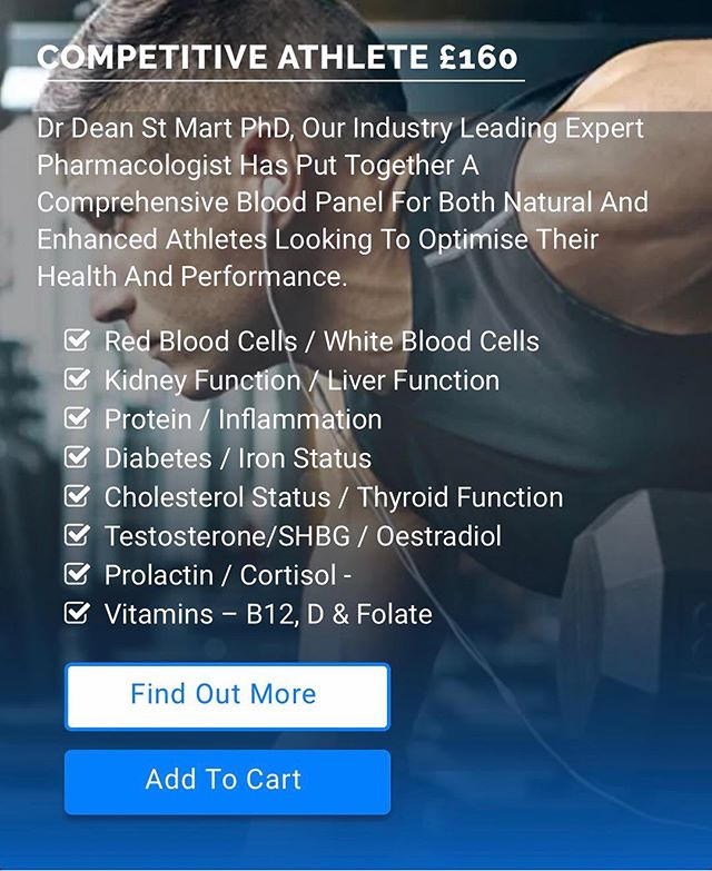 I've been using @youthrevisitedpharmacy since their birth with my clients, so I'm really pleased to announce a new working relationship with them moving forward!  These guys offer online blood tests (I use the competitive athlete test with myself and clients, designed by my friend @deanstm ), and offer private prescriptions based on the outcome of your results. Most notably testosterone replacement therapy for our world, which we all know is extremely difficult to receive prompt and comprehensive treatment via the NHS.  For free VIP express service, use code JOE at check out. Keep your eye out for more exciting stuff coming from myself and these guys in the future!