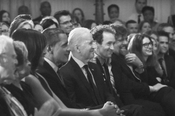 Oskar and some other early  Hamilton  boosters reunite in March 2016 at the White House, in the room where this happened: just 7 years earlier, Lin-Manuel floated an idea about doing something with the Founding Father who was a bastard immigrant orphan ...