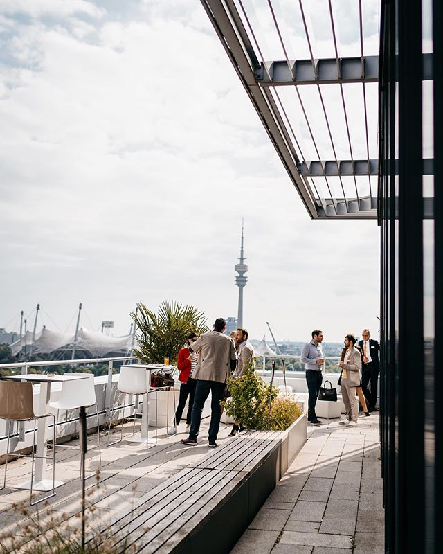 @immobilienscout24 Business Meeting at our Panorama Lounge #weitblick #ms #gettogether #networking #event #business #meeting #break #view #rooftop #location #venue