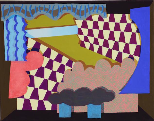 'Ready, Set…' acrylic on canvas, 2019, 46 x 36 cm