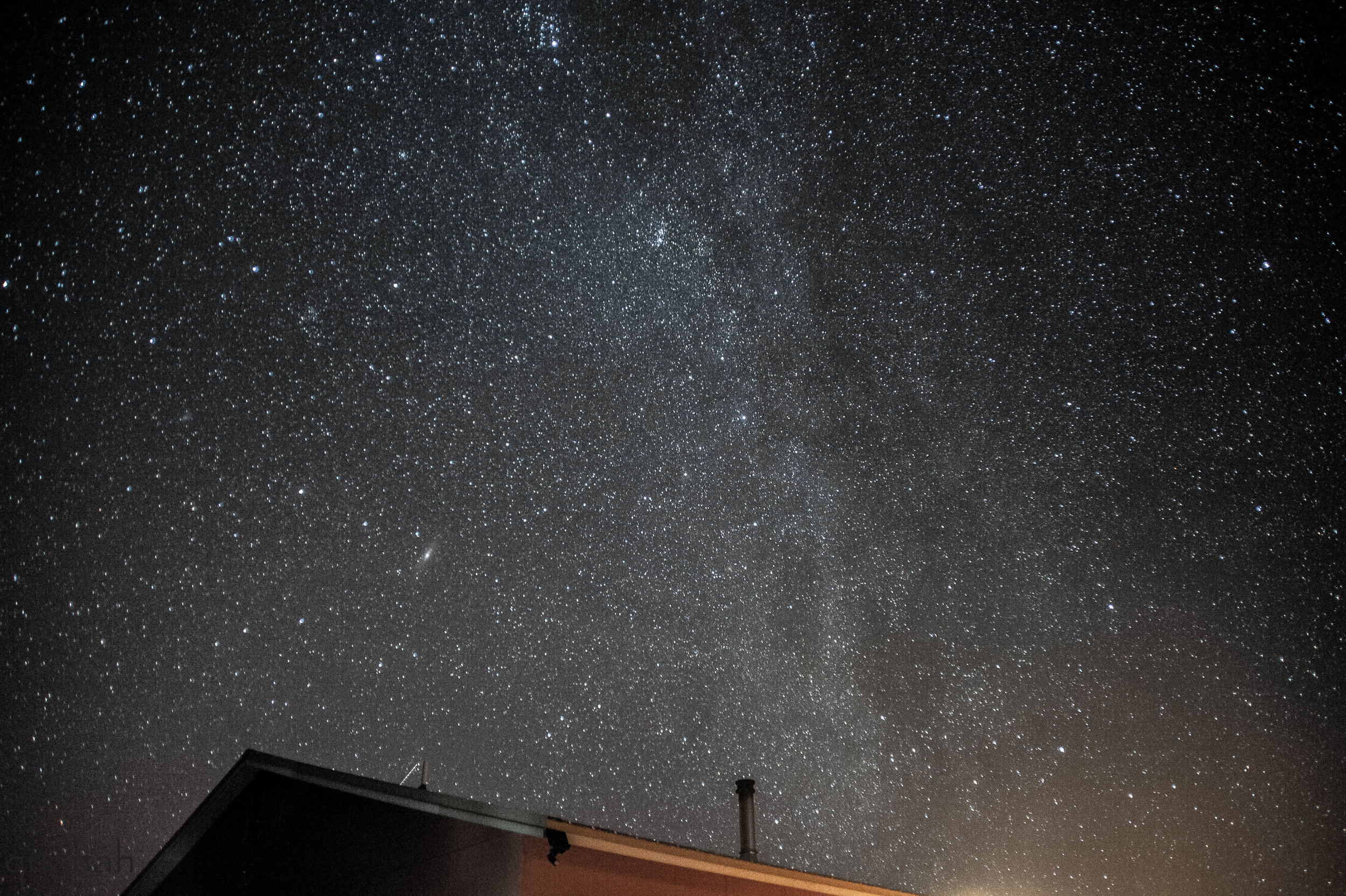 Milky Way Exhaust