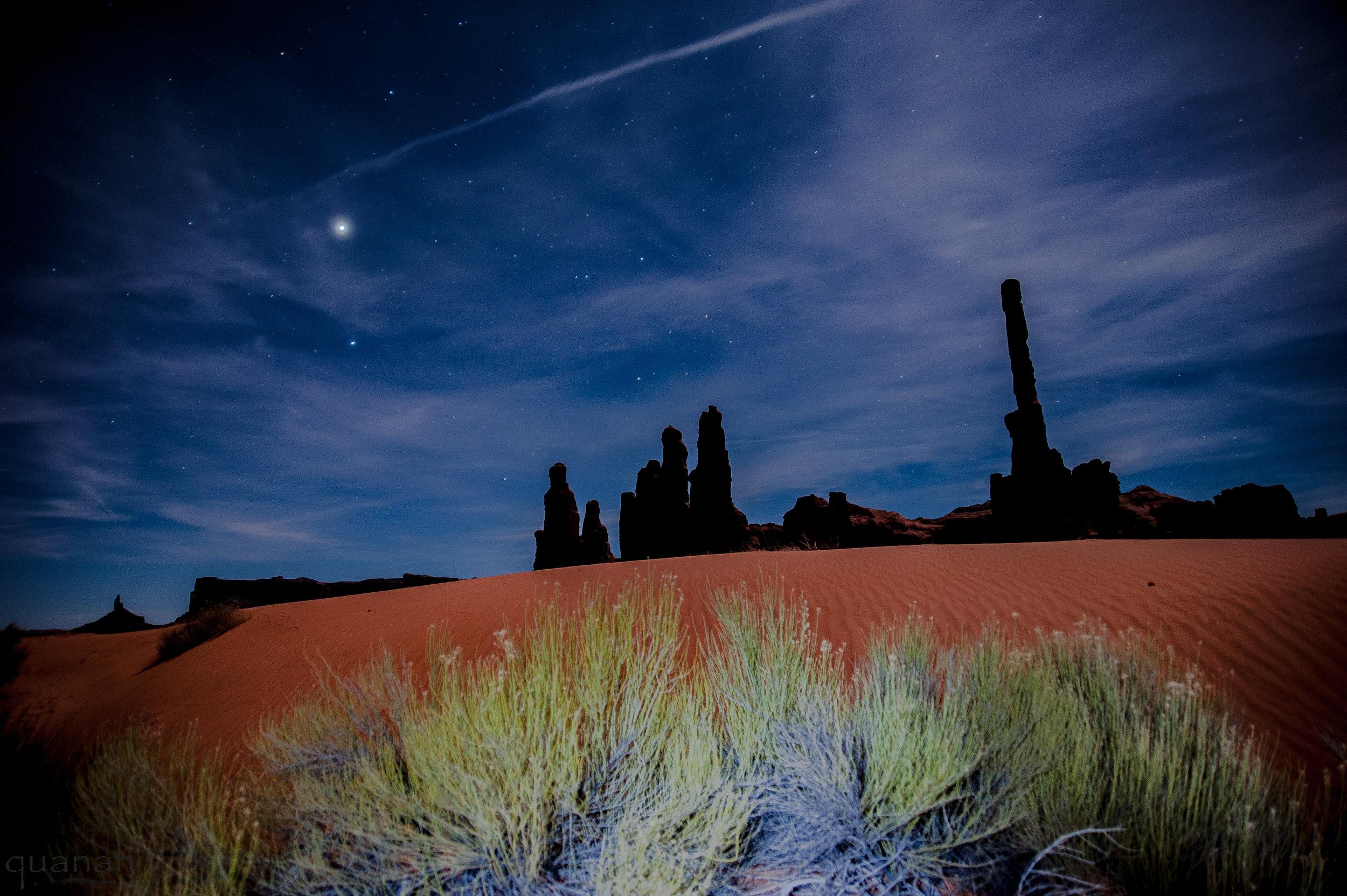 Sand, Totem, Yei's & Night Sky