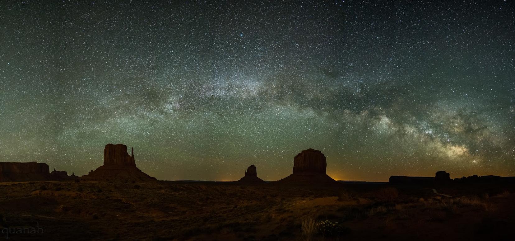 Earth & Sky & Night