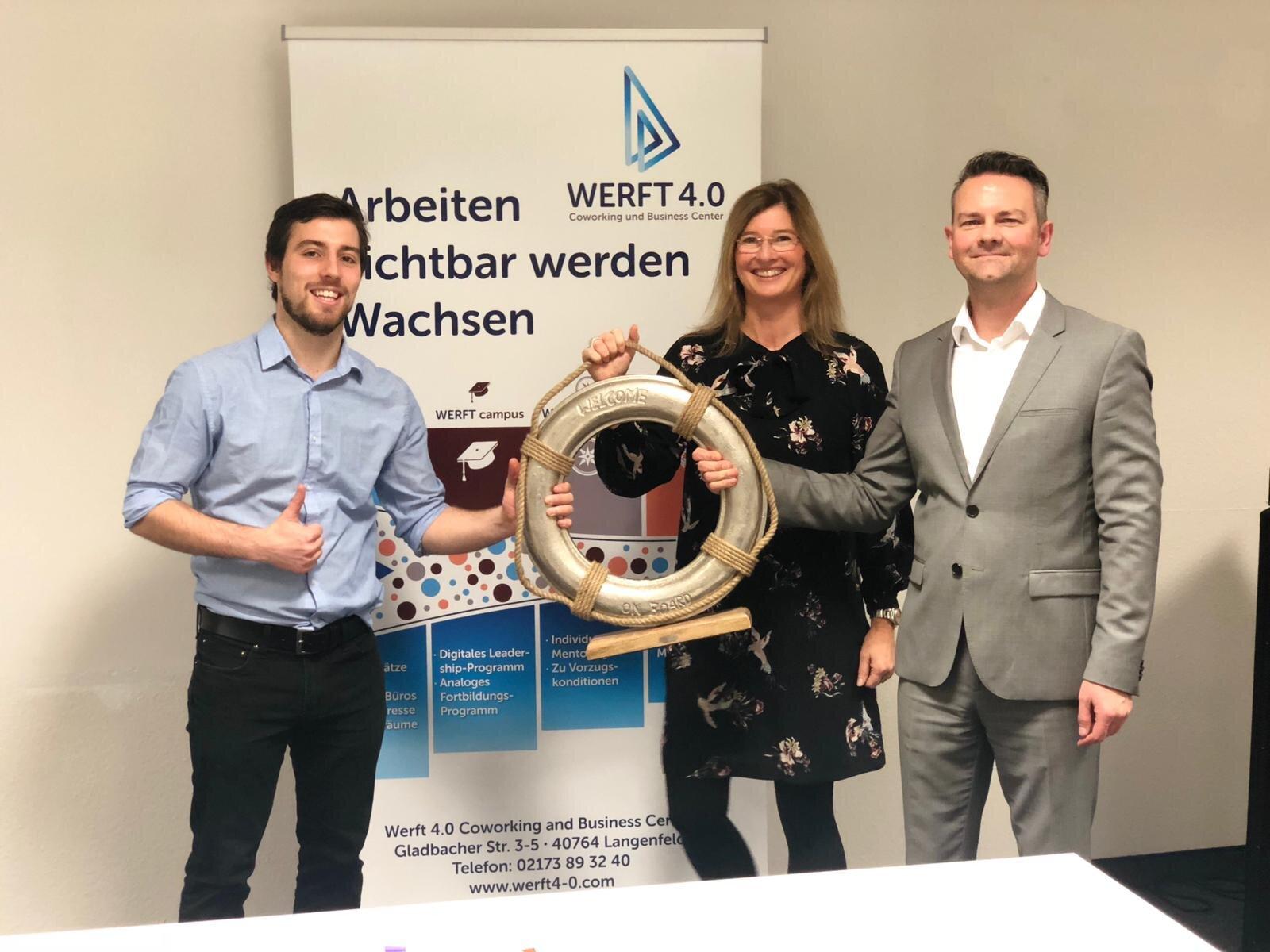 Herr Colin Berr, Frau Katja von Eysmondt, Herr Wolfgang Kierdorf