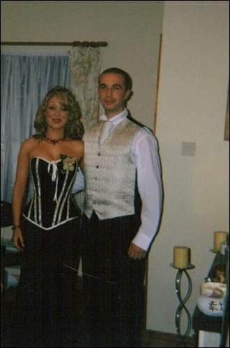 Awww - myself and Paul at my Debs - 12 years ago!