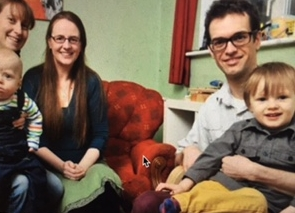 mary with clients CAPPELLA and greg. photo by daragh mcSWEENY provision