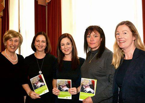 Seen at the launch of the hse booklet. Lorraine O Hagan, regina keogh, Jen Crawford, claude wynne, siobhan hourigan