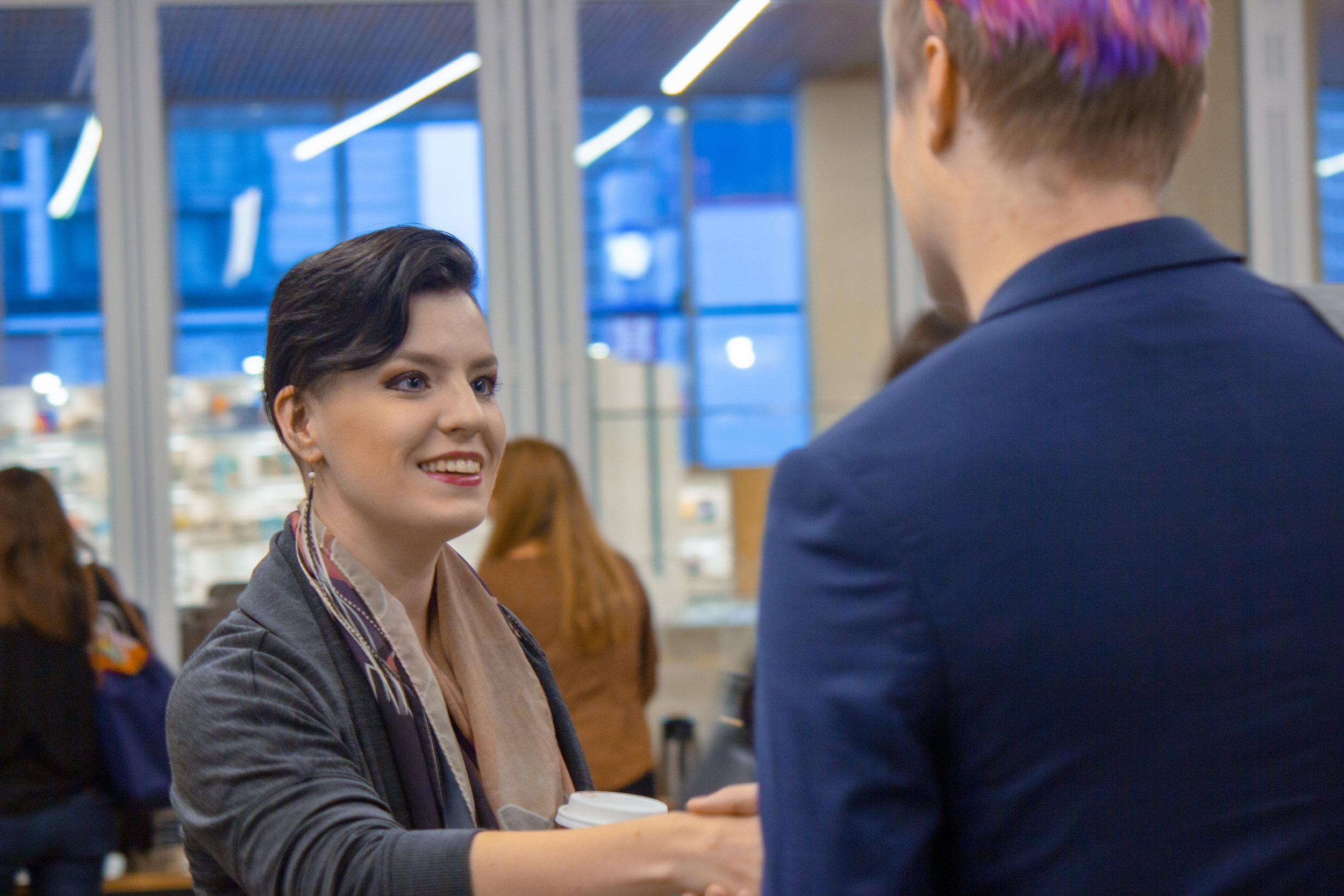 Networking - Make meaningful connections with individuals and tech companies that make up our ecosystem.
