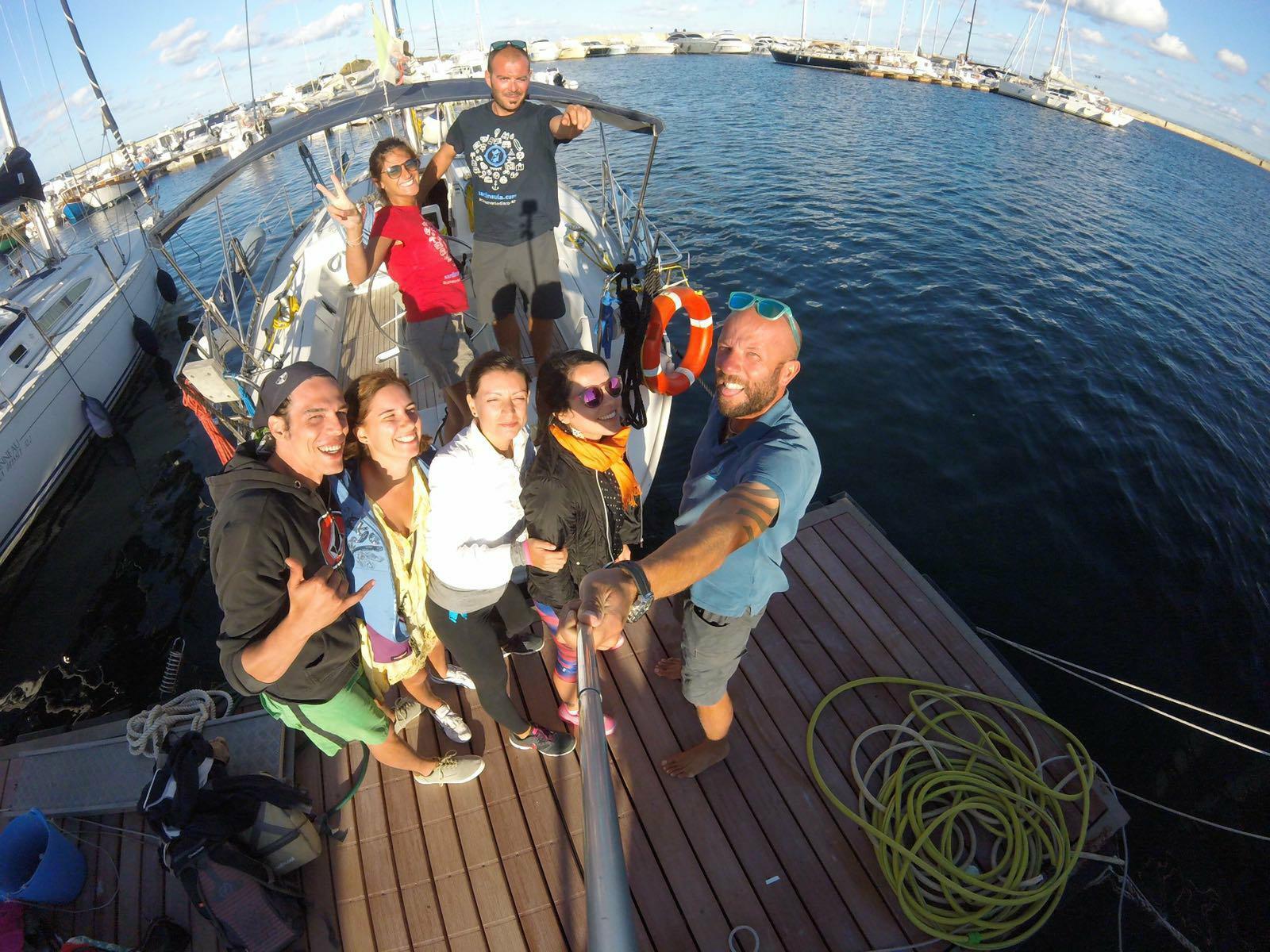 walking and sailing tour asinara sardinia