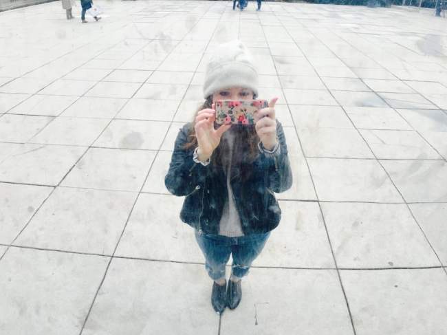 In Chicago focused more on getting the perfect picture than seeing The Bean