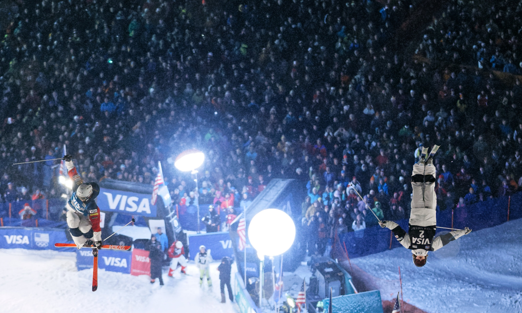 Dual moguls finals