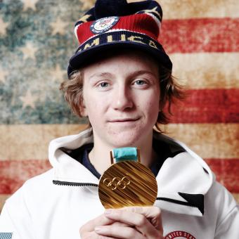 Red GERARD -  USA    2018 OLYMPIC CHAMPION
