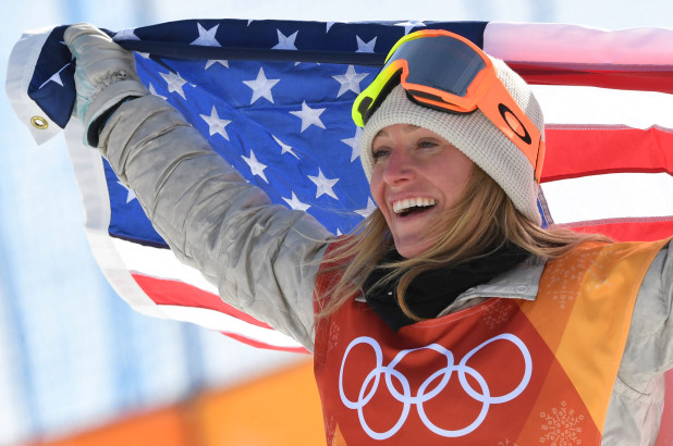 Jamie ANDERSON -  USA    2018 OLYMPIC CHAMPION