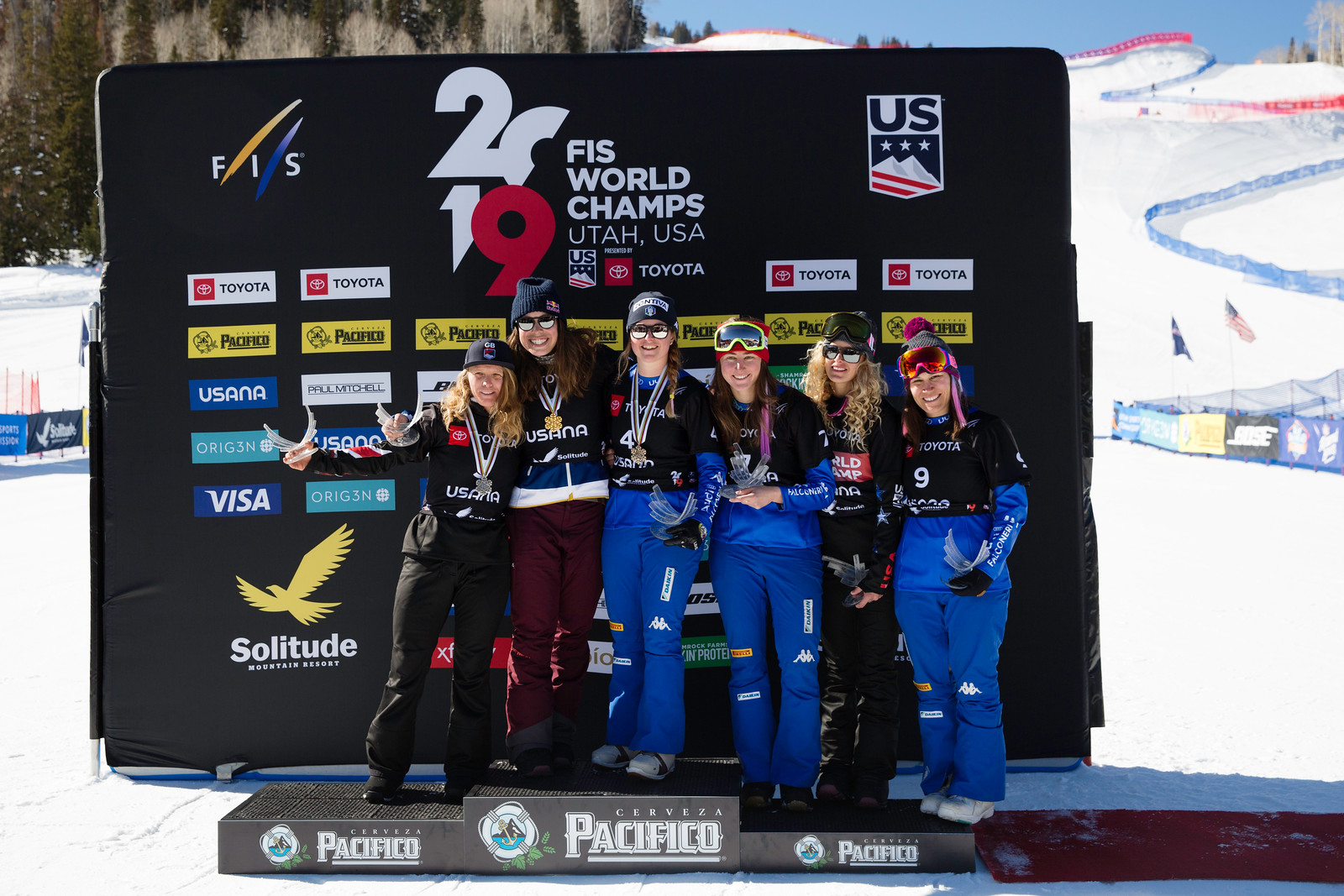 Pacifico SBX Finals  2019 FIS World Champs presented by Toyota - Solitude, Utah Photo: U.S. Ski & Snowboard