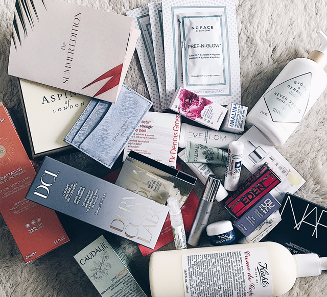 The  Space NK  summer edition beauty giveaway is the bag spill dreams are made of.