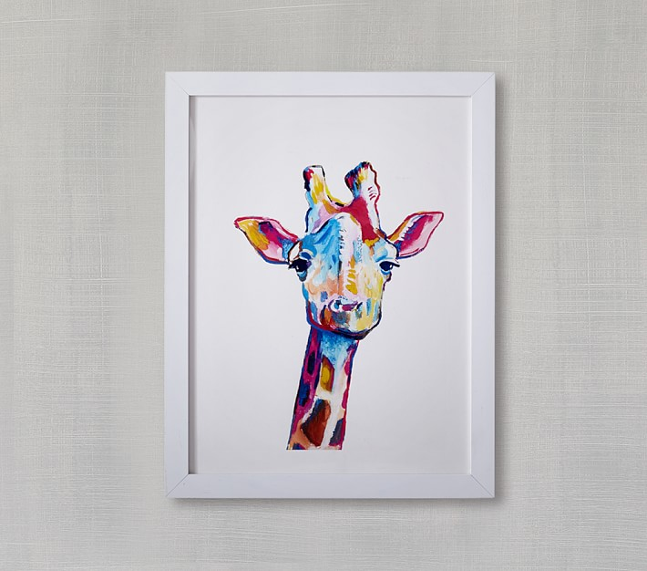 Mr. Giraffe Wall Art - $165.00