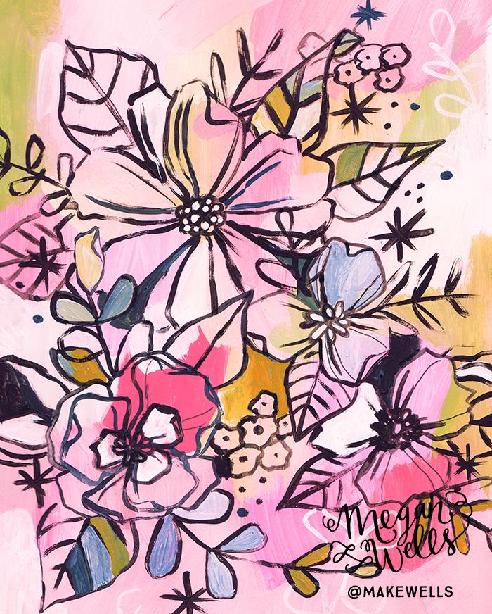 Day 331- In Pink - Makewells - Megan Wells .jpg
