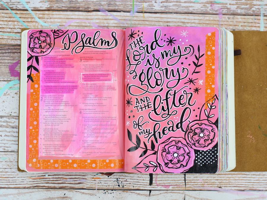Art Journaling Through The Bible