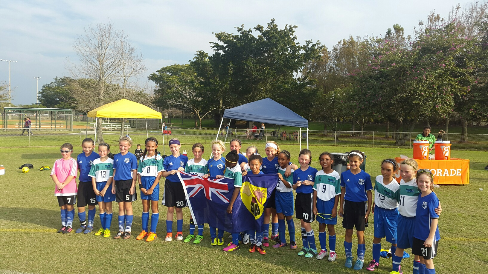 Girls under 10 team