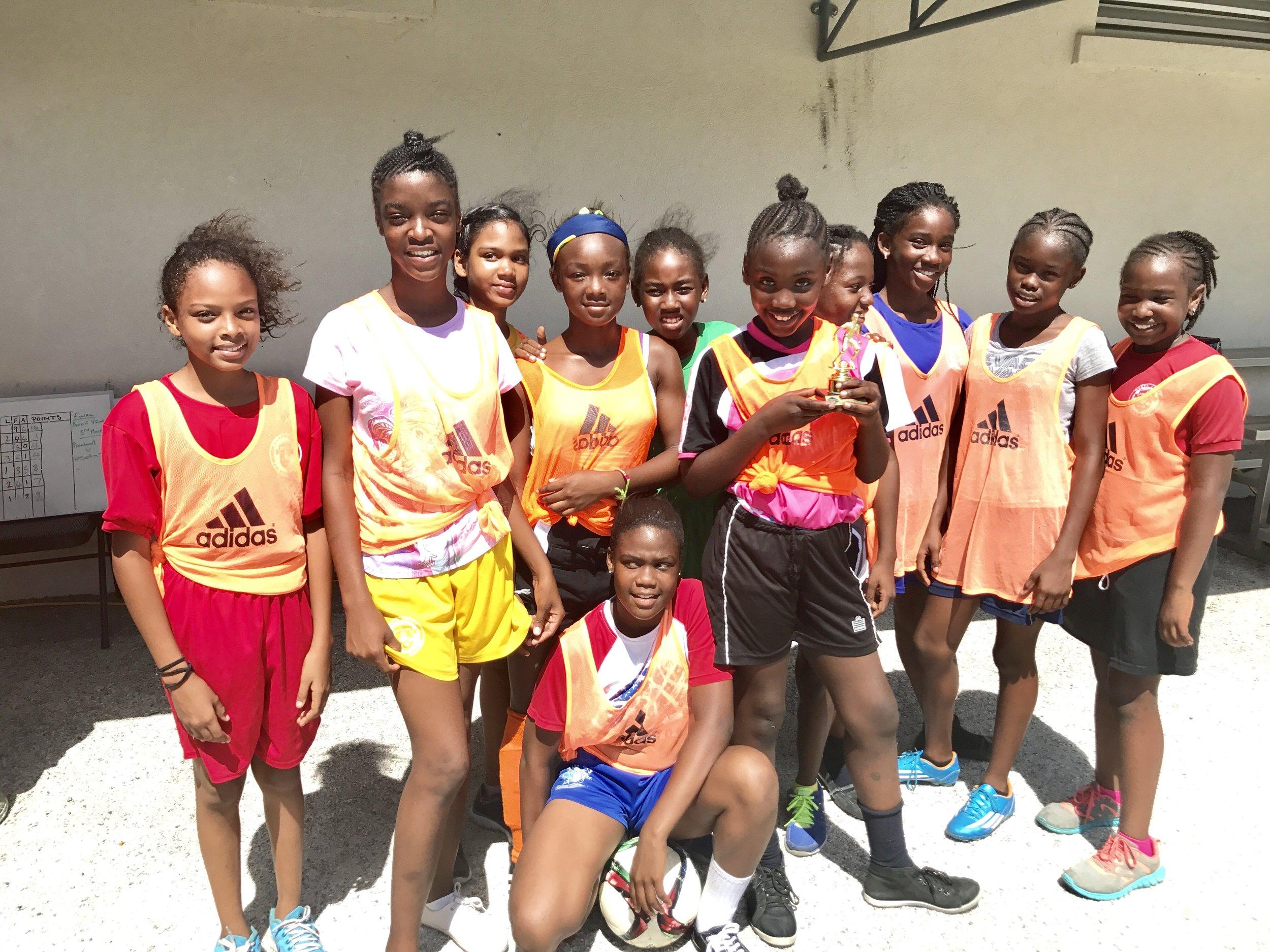 Girls 3rd place, Oseta Jolly