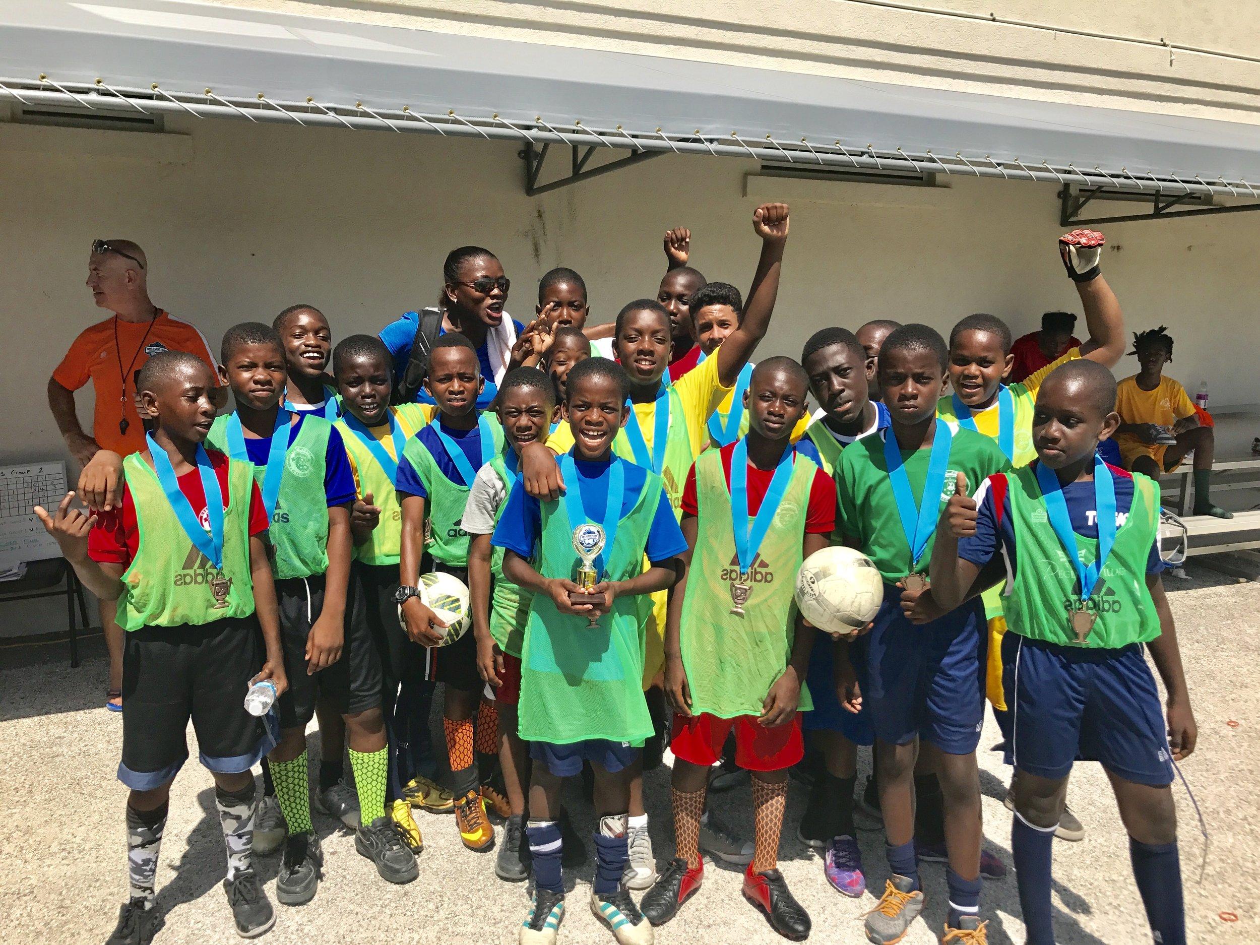 Boys 3rd place, Oseta Jolly