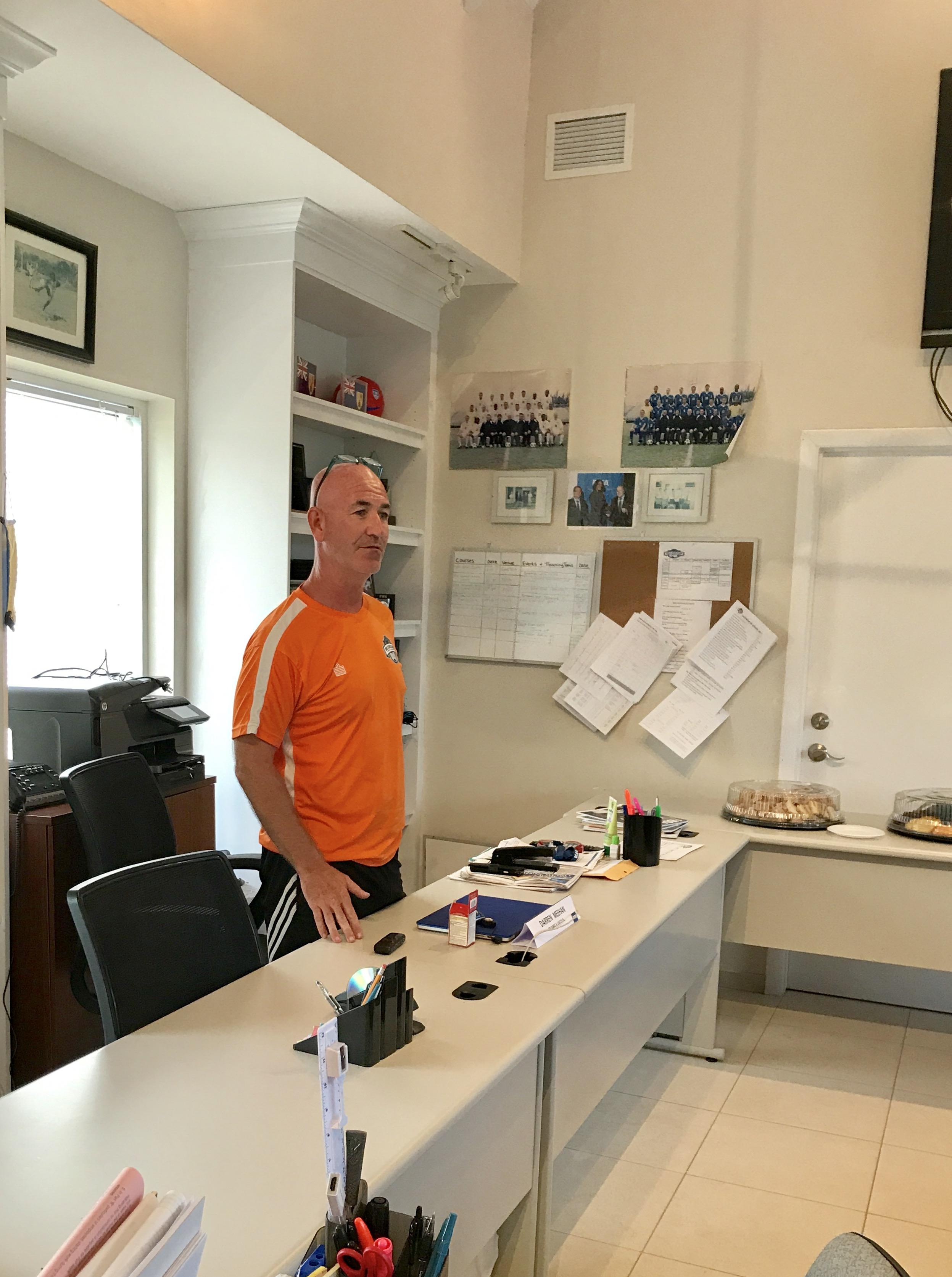 TCIFA Technical Director, Darren Meehan