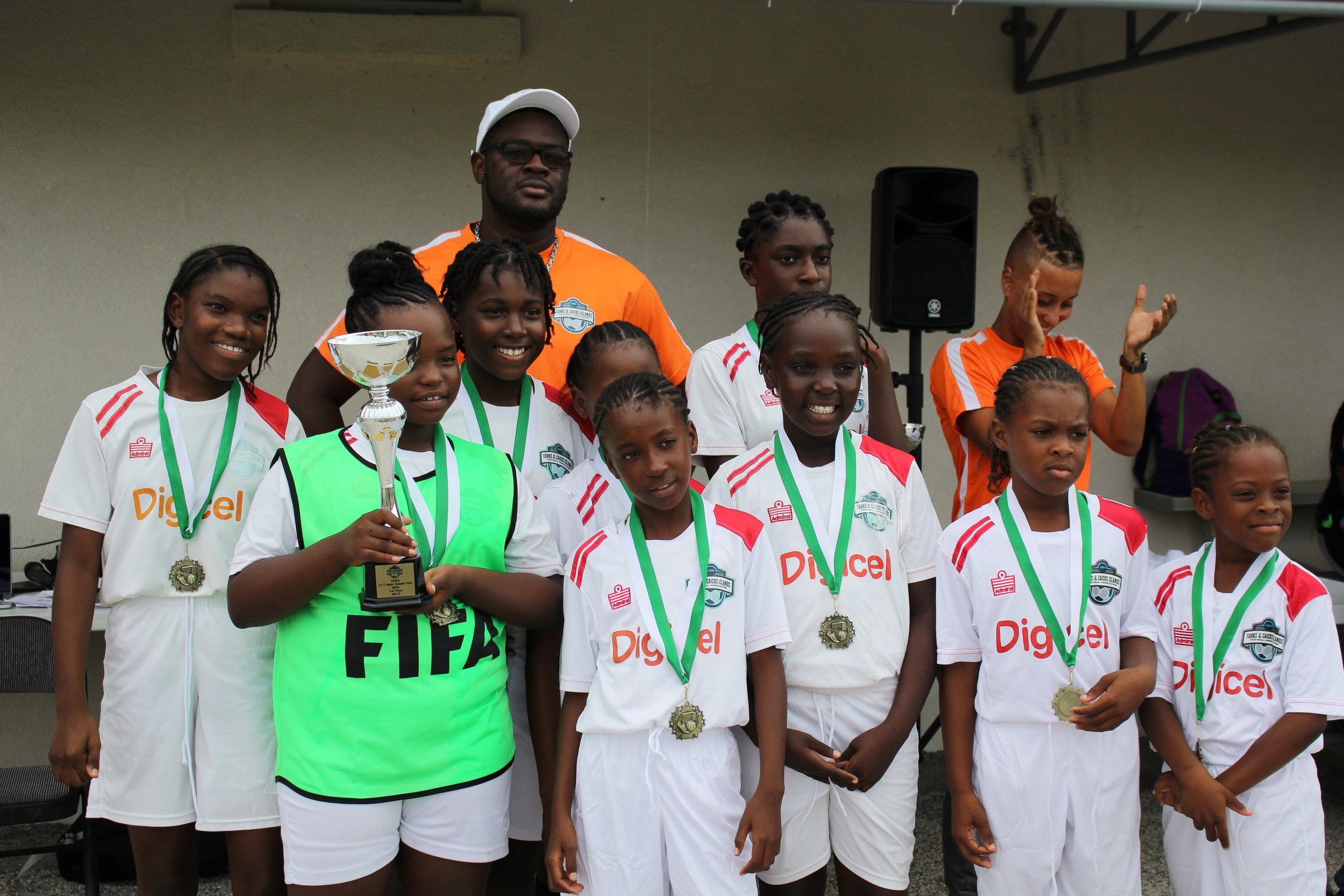 1st place Girls-South Caicos