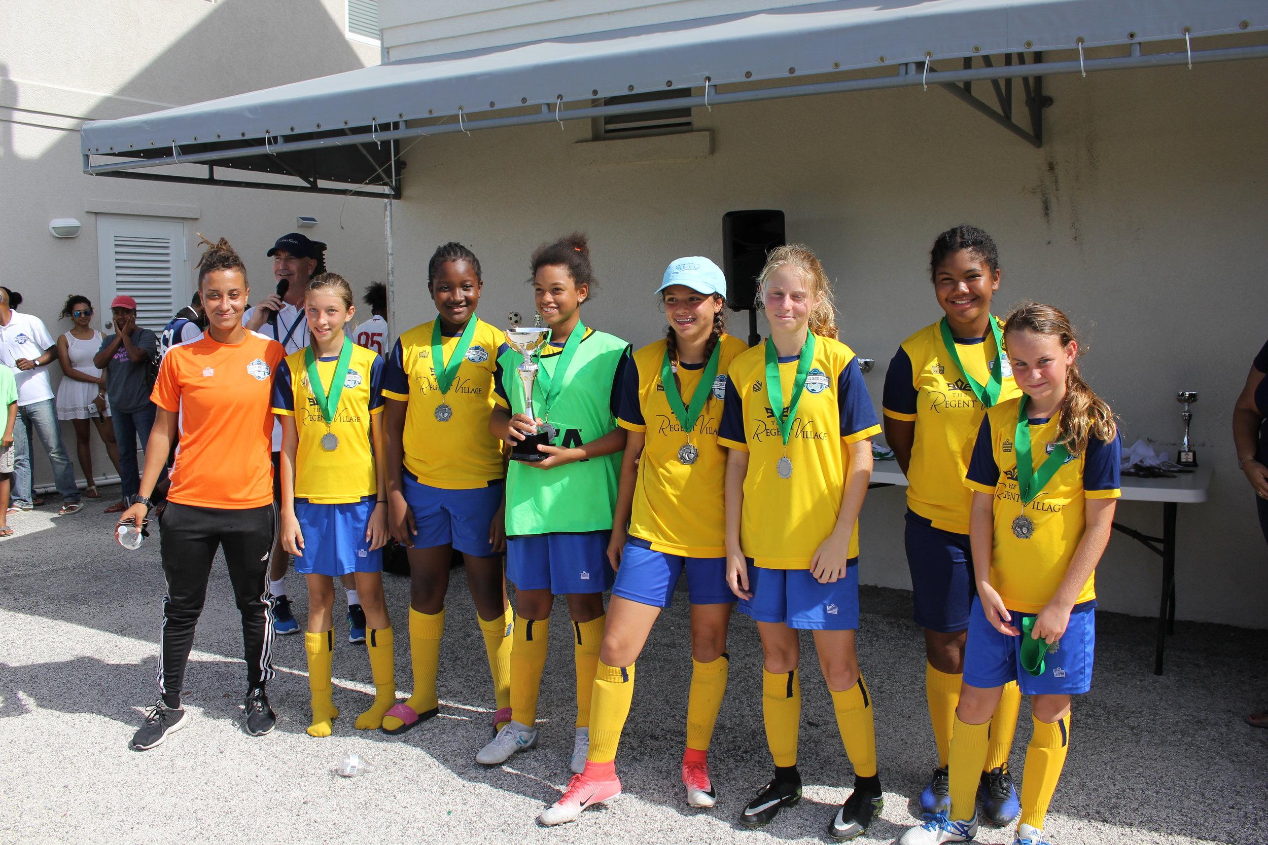 Girls 2nd place -ProvoYellow