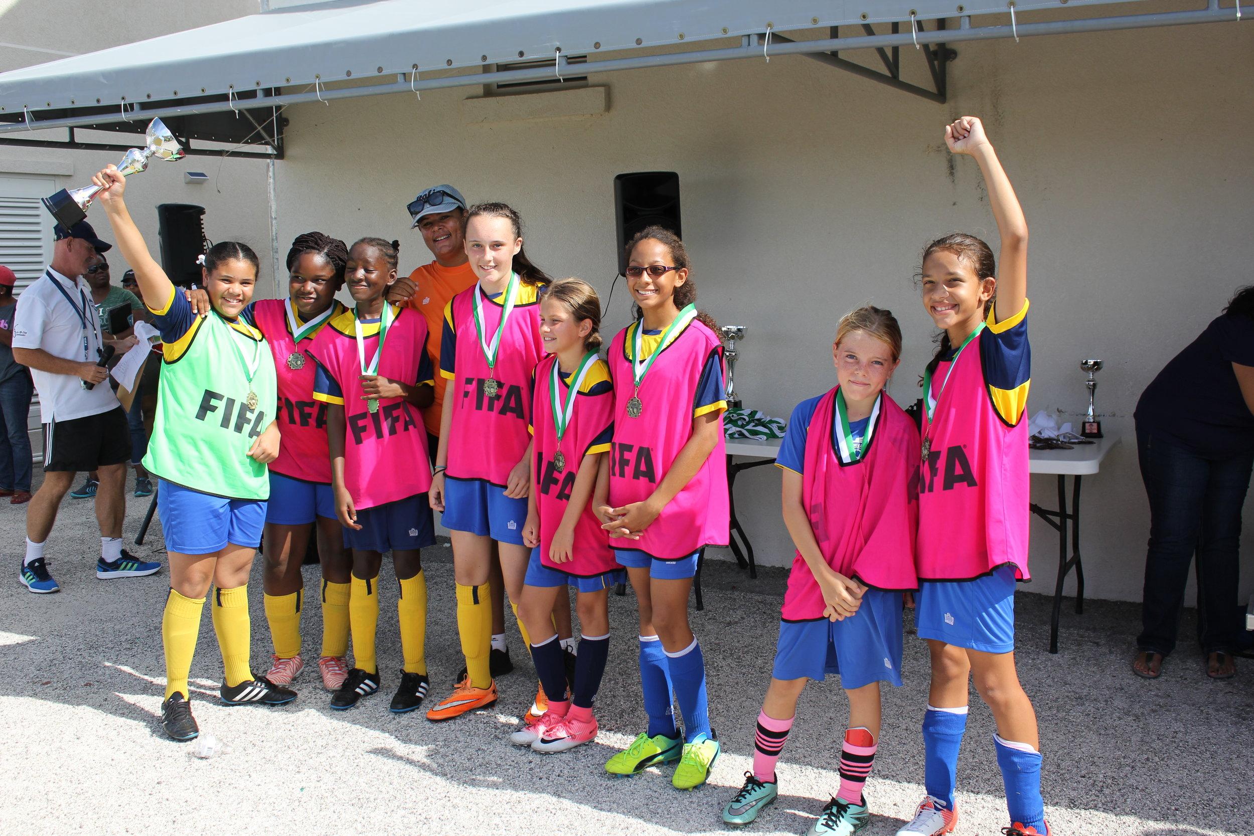 Girls 1st place- Provo Pink