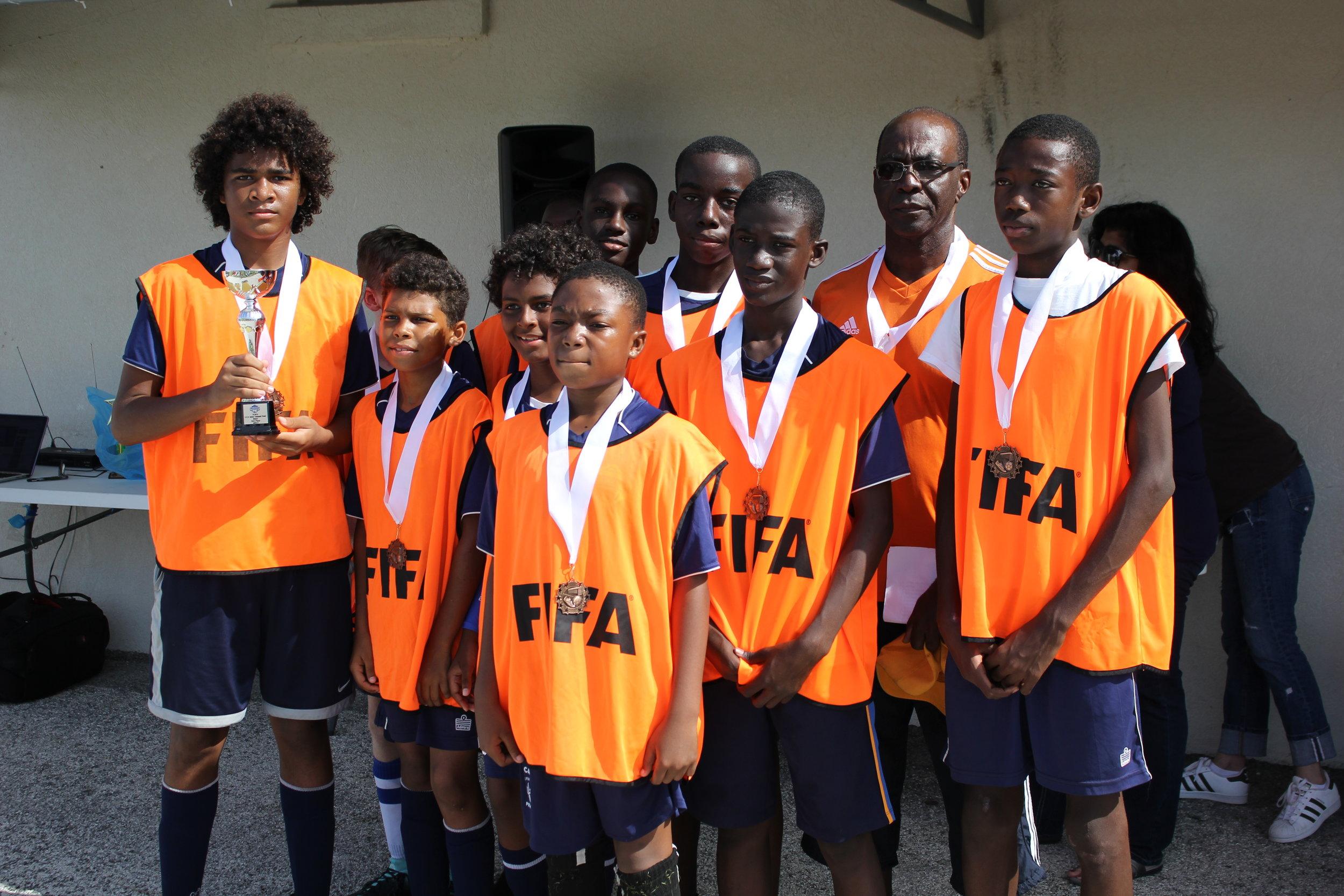 Boys 3rd place- Provo Orange