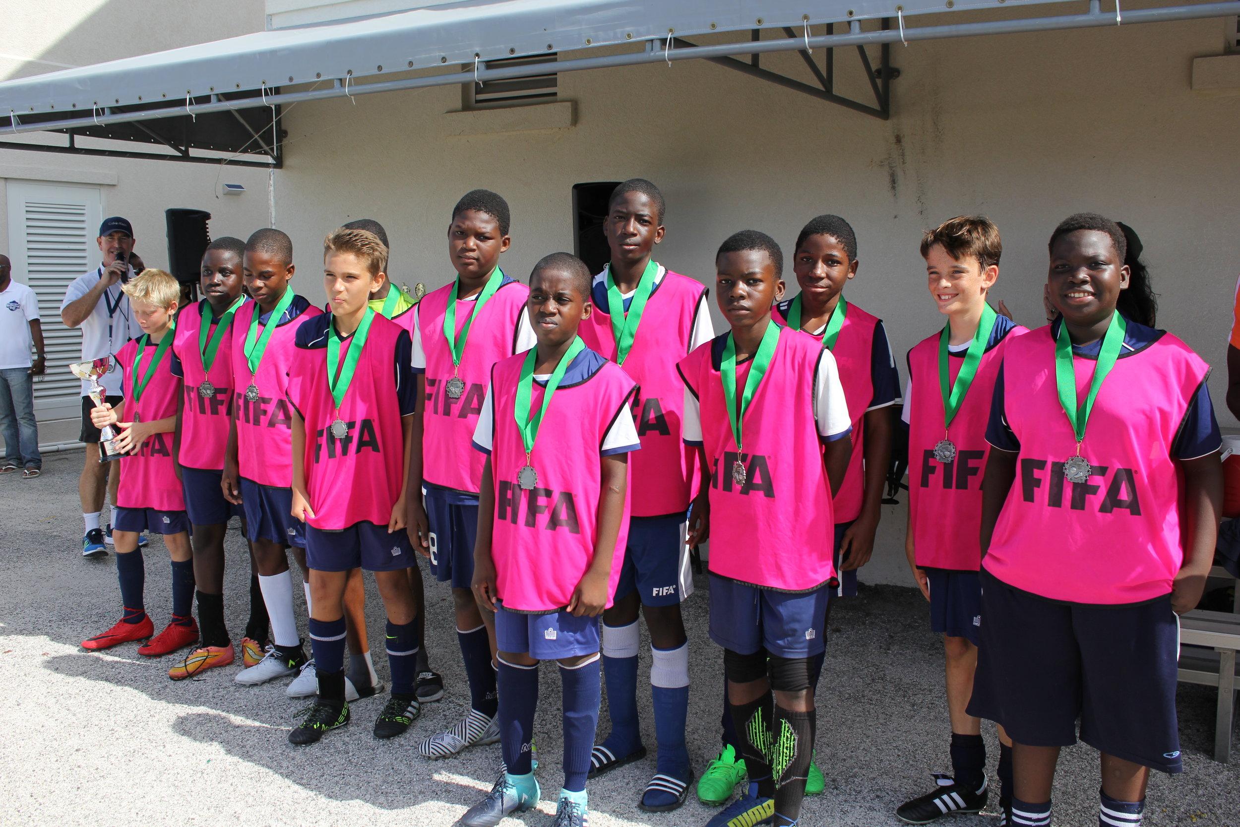 Boys 2nd place - Provo Pink