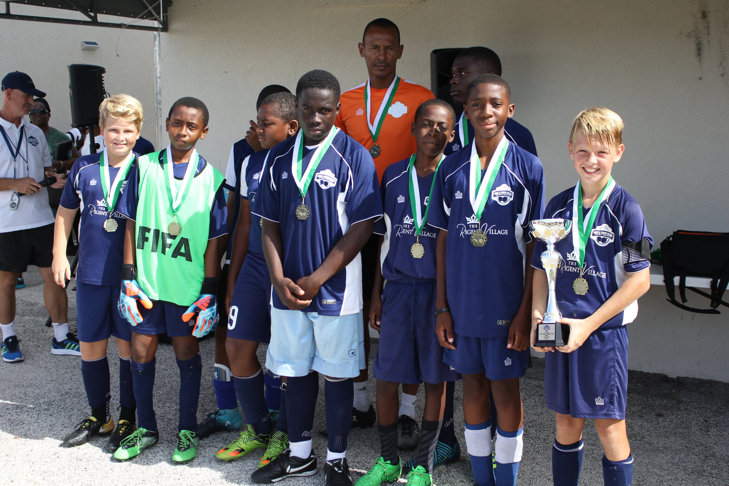 Boys 1st place- Provo Blue