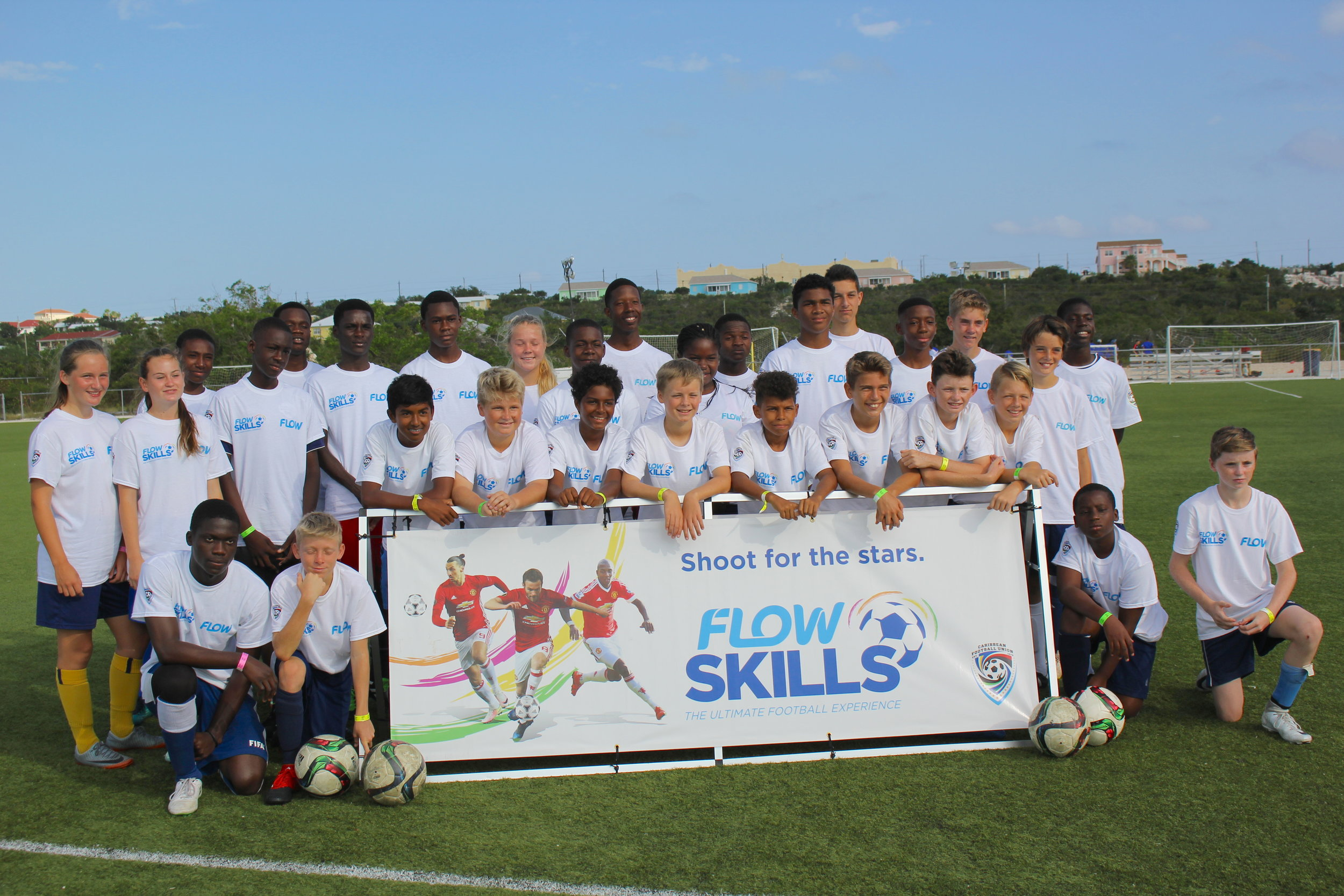 Participants of the FLOW Skills Competition.