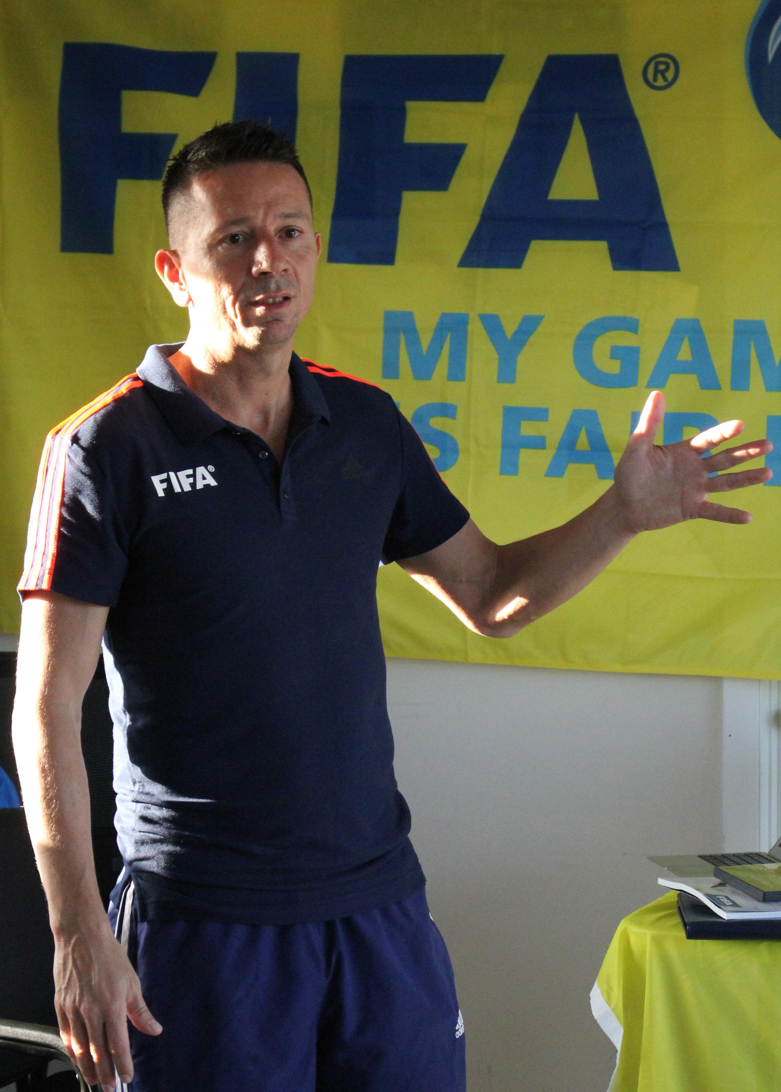 Instructor Angelo Schrinzi