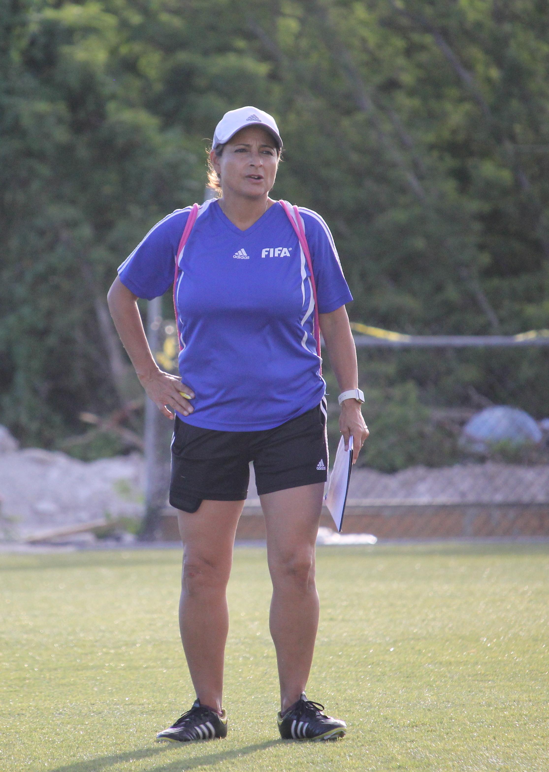 FIFA Instructor, Andrea Rodebaugh