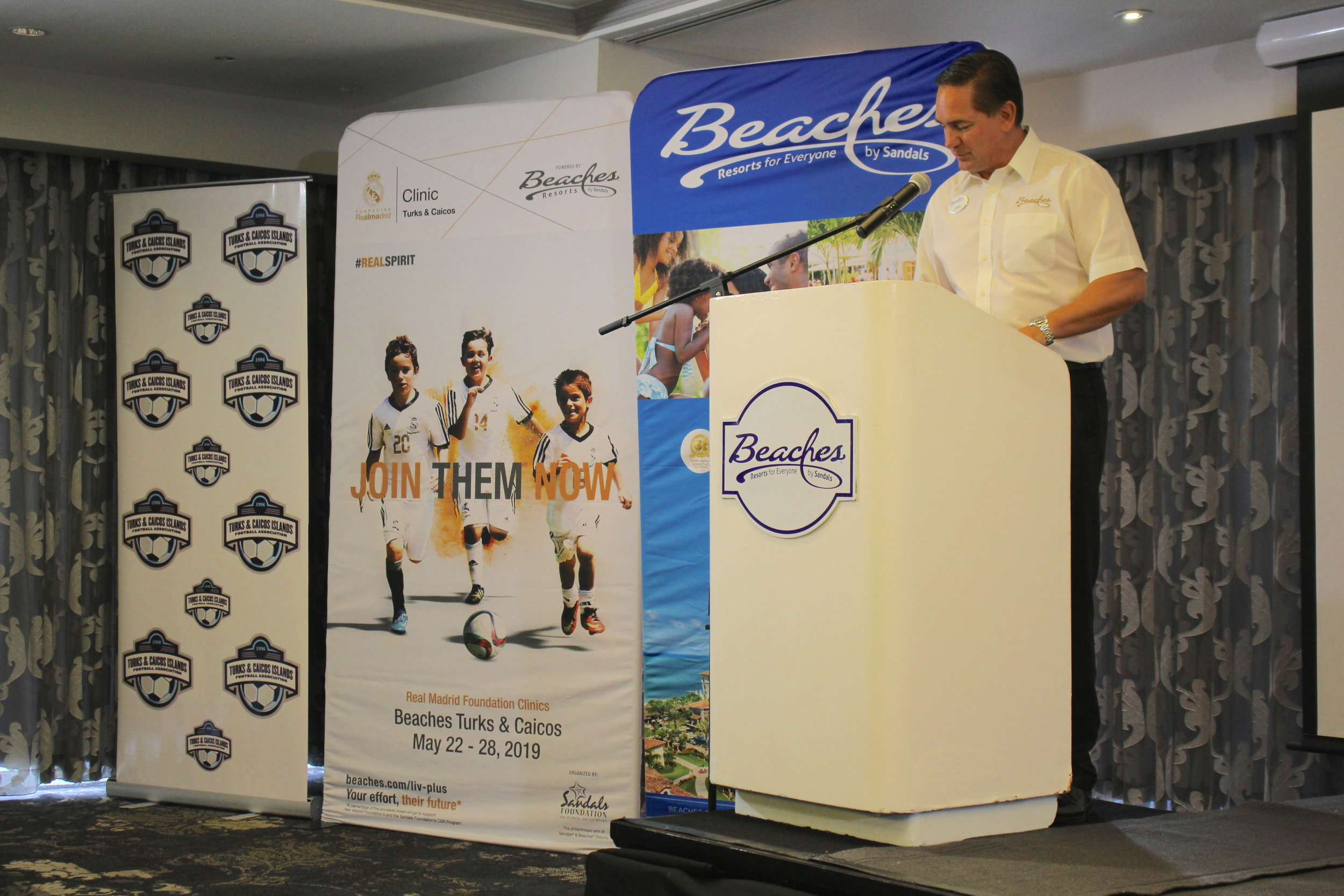 Beaches General Manager- James McAnally