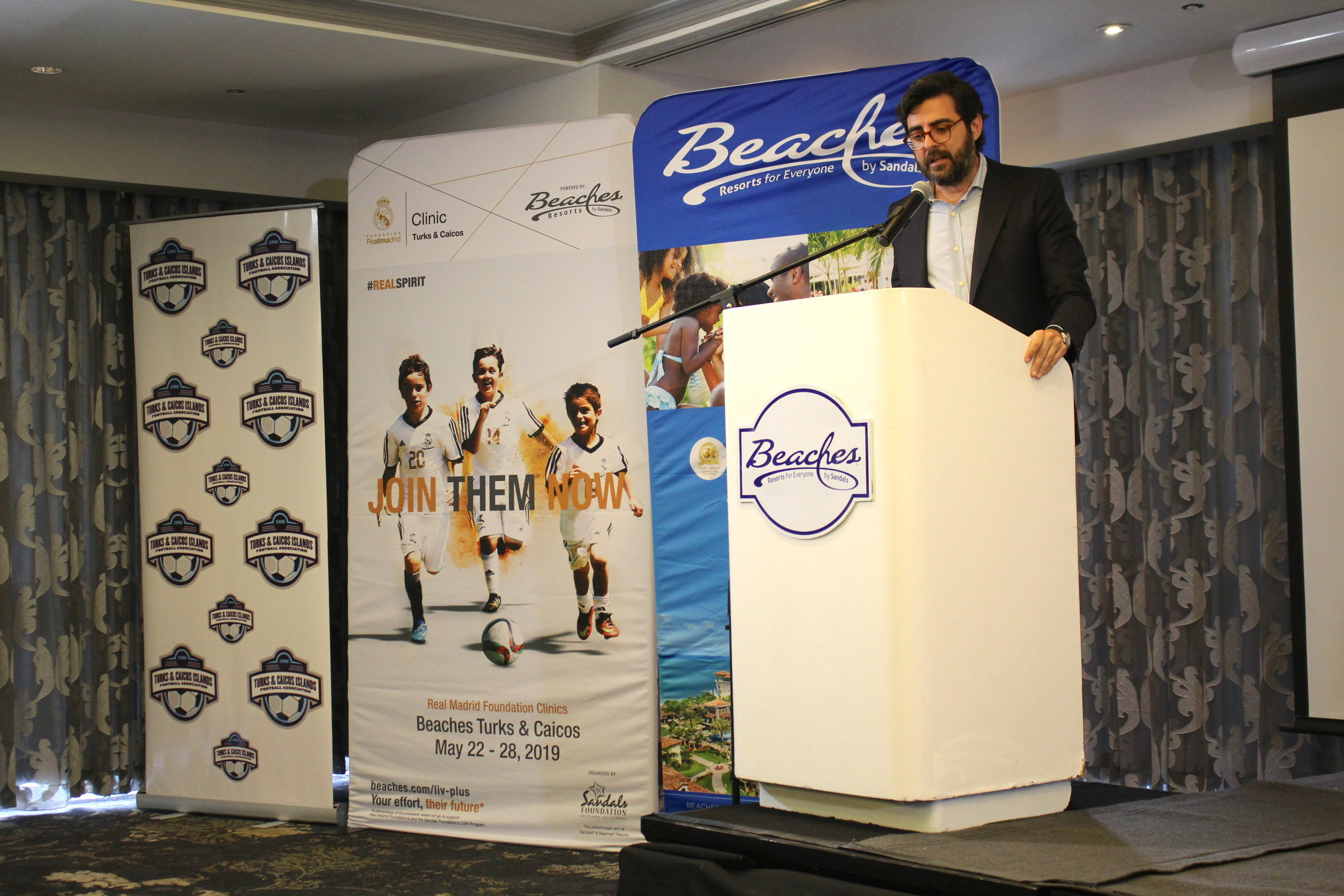 Campus and Clinics Area Manager of Real madrid Foundation- Andres Muntaner Borrajo