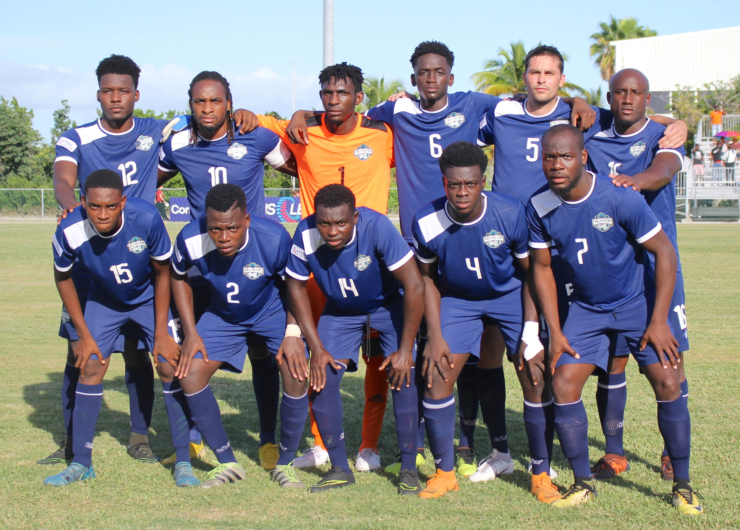 Turks & Caicos Islands starting 11
