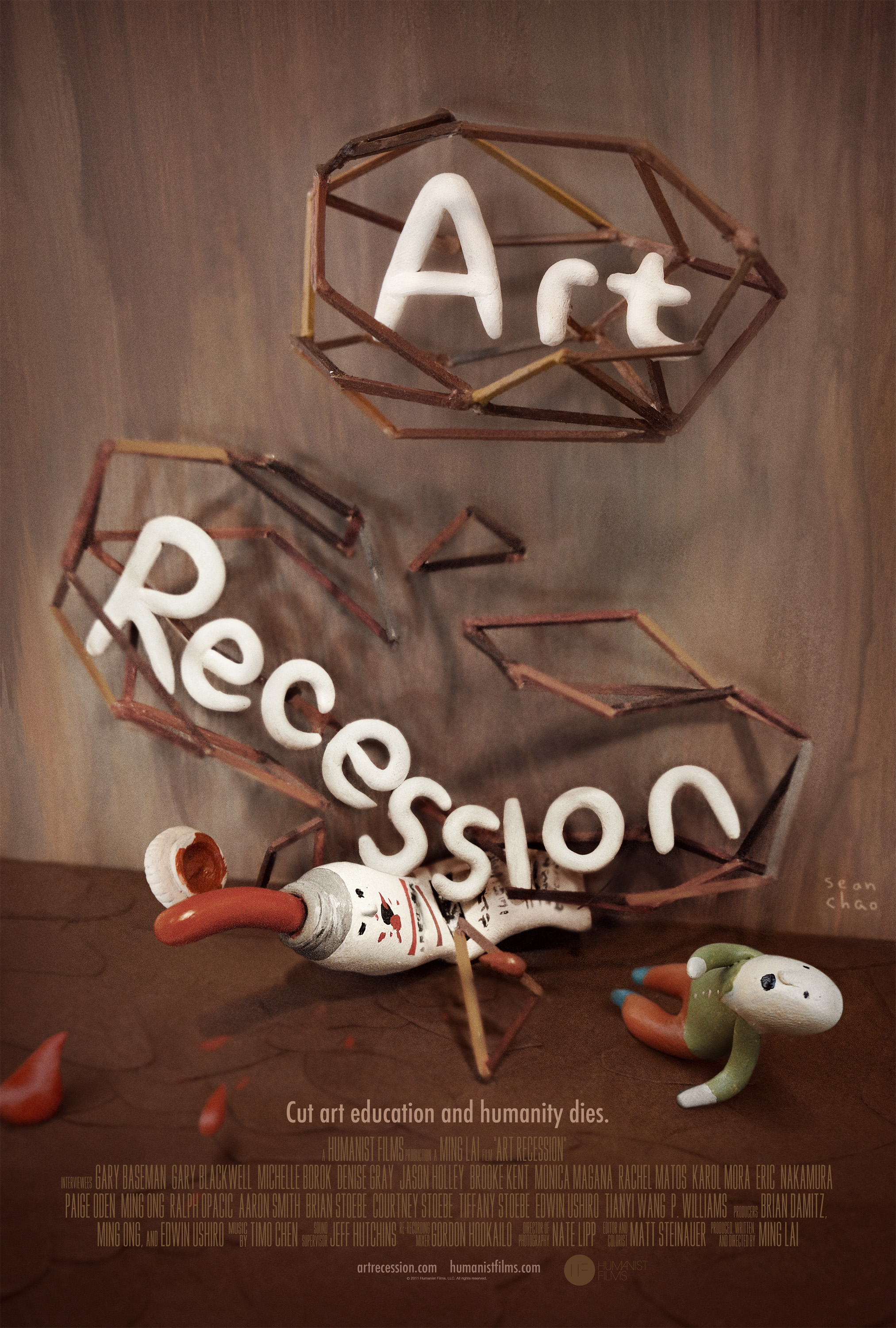 """Art Recession,"" our feature documentary about the importance of art education, premiered at the prestigious Newport Beach Film Festival, won ""Best Feature Documentary"" at the respected International Family Film Festival, and is being digitally released by industry-leading FilmBuff.    Learn more.     Buy or rent on Amazon."