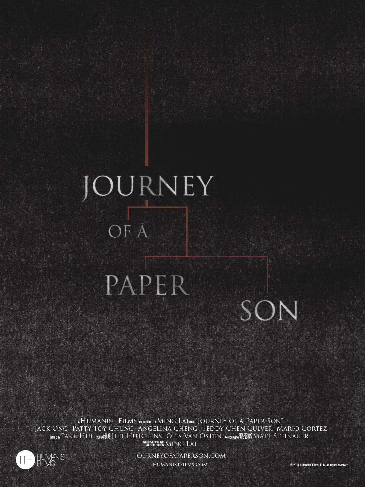 """Journey of a Paper Son,"" our short film about a father who reveals to his family that he's a ""paper son"" (an illegal immigrant using fake papers), was an Official Selection of a dozen national film festivals and won the Best Short Film Gold Angel Award at the Chinese American Film Festival.    Learn more.     Buy on Amazon."
