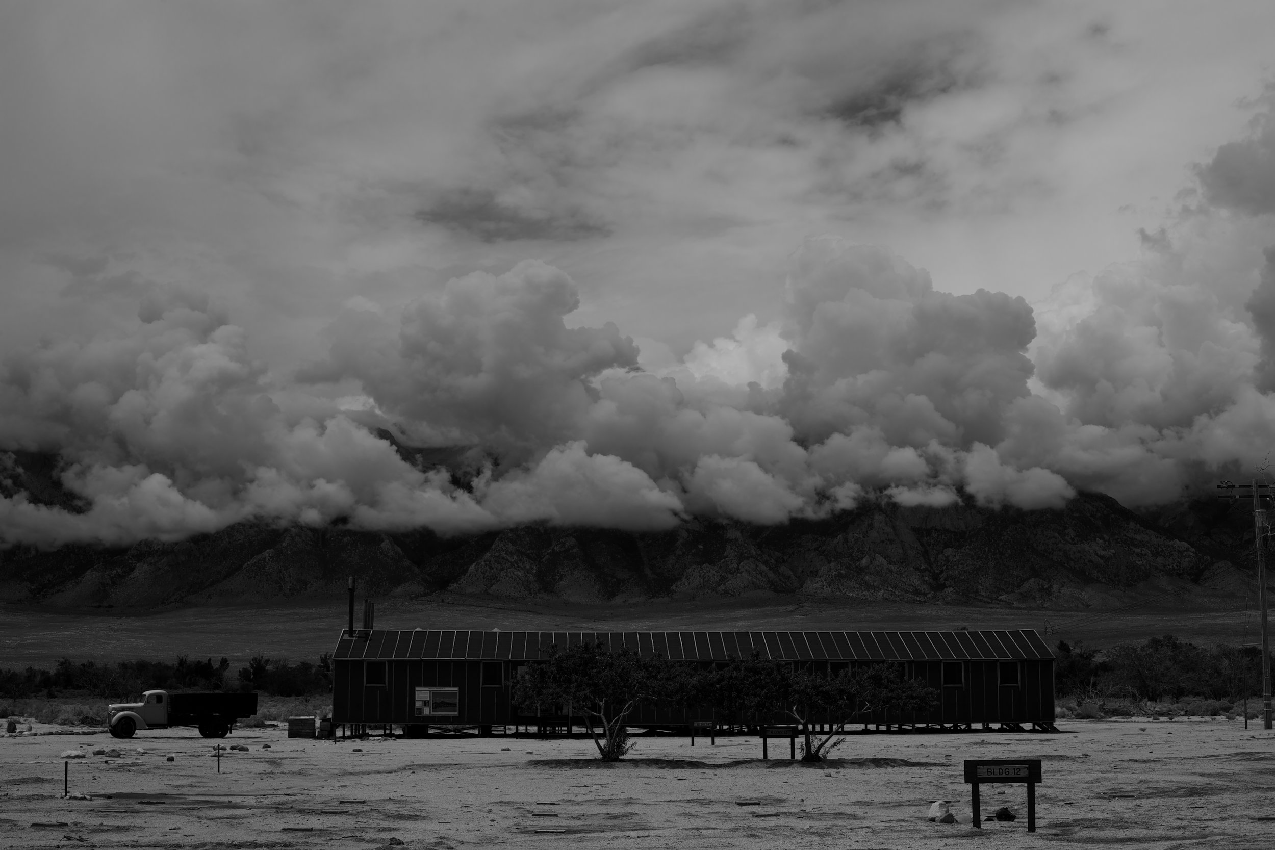 Manzanar War Relocation Center/Mess Hall, Independence, CA