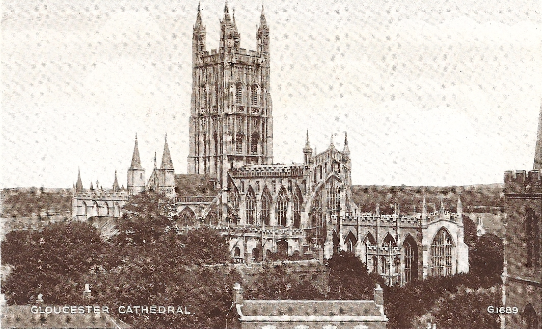 Glouster Cathedral printed in Great Britian1942.jpg