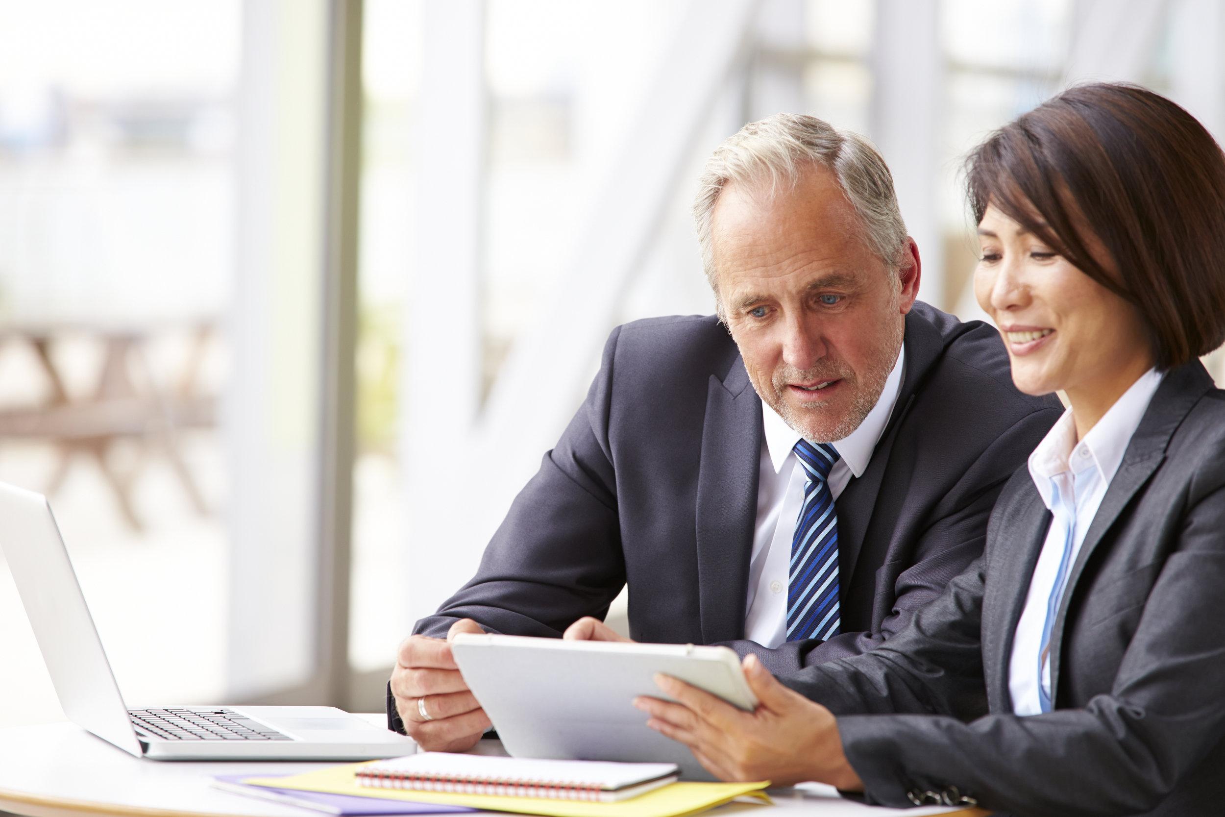 Strategic & personal mentoring.