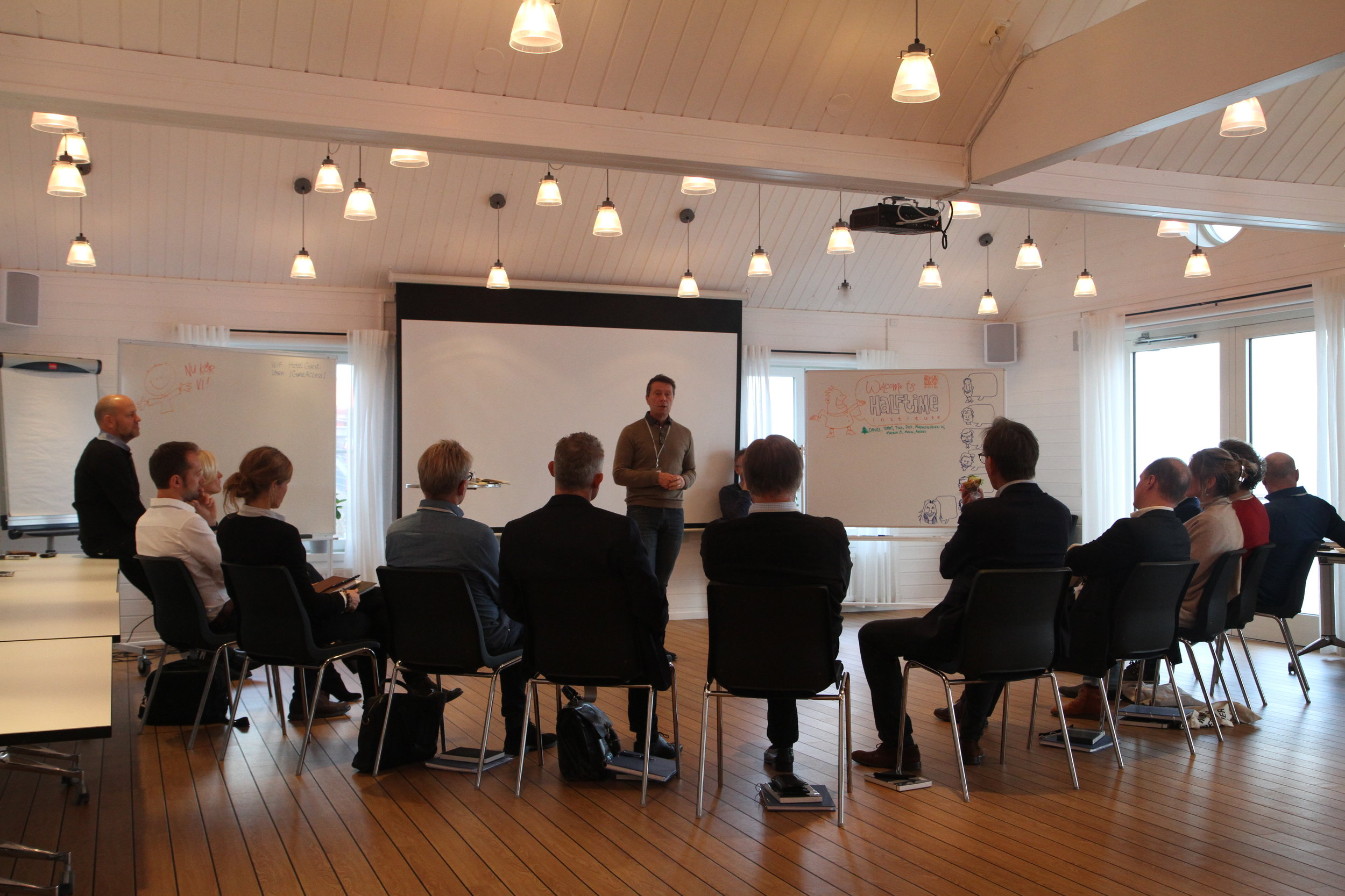 One program session, Sweden 2017.